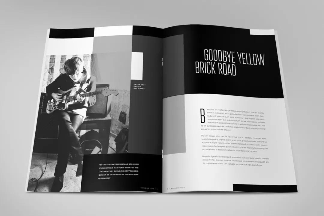 版式设计|创意画册鉴赏
