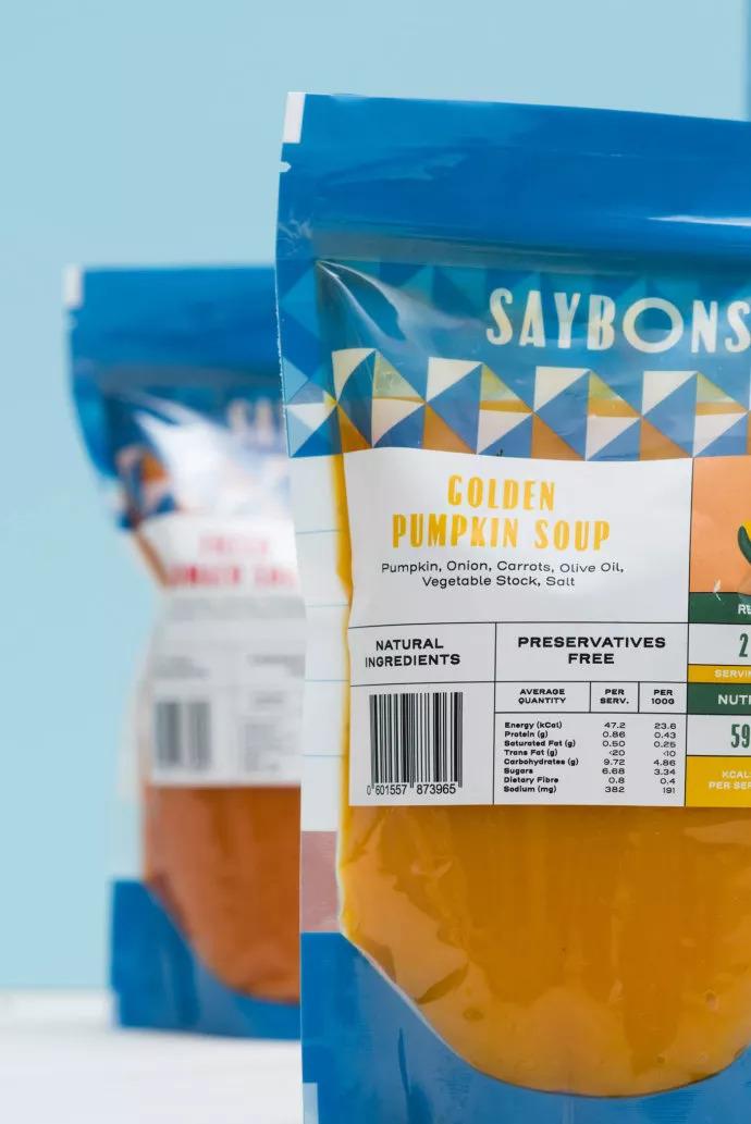 saybons新加坡餐饮品牌设计